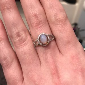Charmed Aroma SS925 Moonstone Ring! Size 9